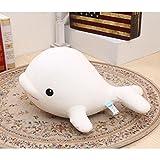 Dongcrytal 11.8'' Beluga Toys-Stuffed Animal Dolphin Doll