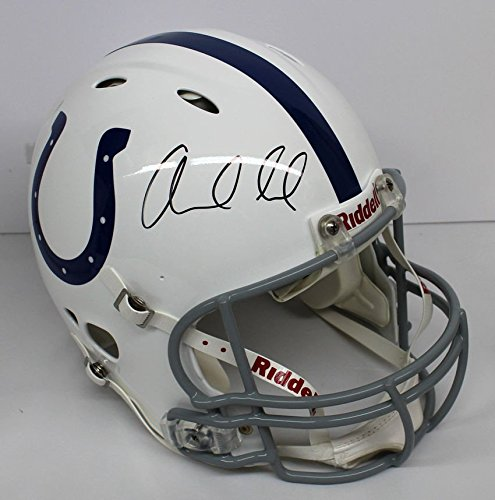 Andrew Luck Autographed Proline Speed Indianapolis Colts Fs Helmet - PSA/DNA Certified