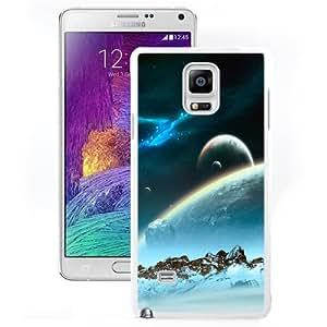 Fashion Custom Designed Cover Case For Samsung Galaxy Note 4 N910A N910T N910P N910V N910R4 Hibernaculum White Phone Case