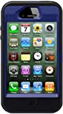 Otterbox Defender Case for Iphone 4s (Black Silicone & Blue Plastic), Bulk Packaging