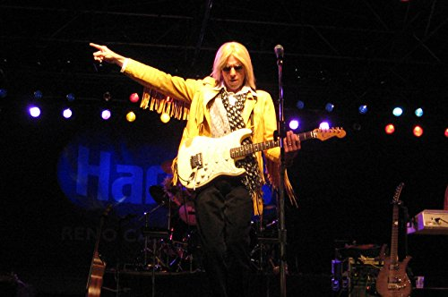 - Tom Petty in yellow jacket sunglasses concert 24x18 Poster