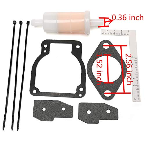 iFJF 18-7750-1 Carburetor Kit For Sierra Mercury Mariner Outboard Motor Replaces 1395-8236354 by iFJF (Image #1)