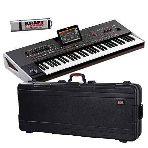 Korg Pa4X Oriental 61 Arranger Workstation with TSA Hard Case and Flash Drive