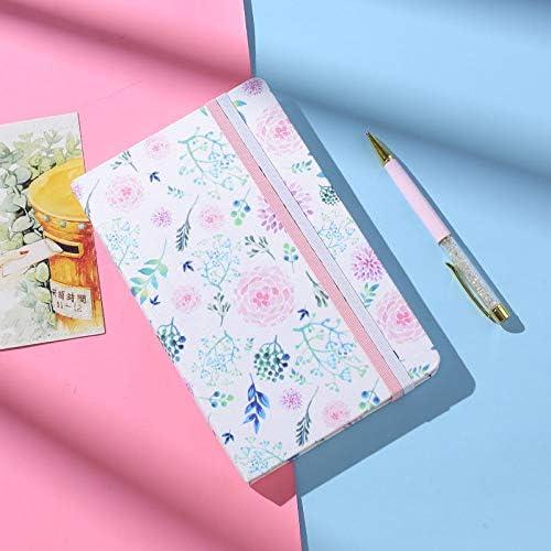MKDLB Notizbuch Hardcover Squared Journal GitterplanerNotebookJournal 132x210mm Quadrat, Pink
