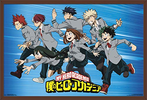 Trends International My My Hero Academia – Group Wall Poster, 24.25 X 35.75 , Multi