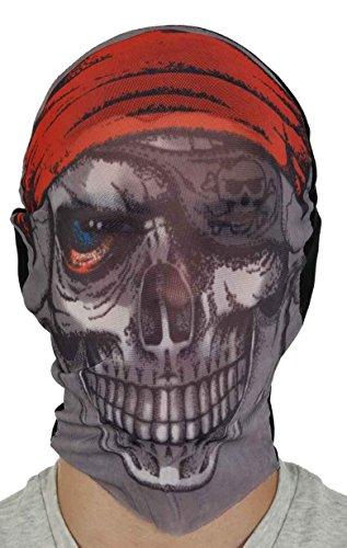 Pirate Skull Stocking Hood/Mask