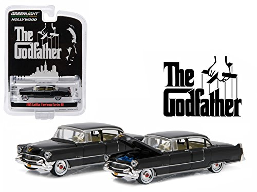 Maisto 1955 Cadillac Fleetwood Series 60 Special The Godfather (1972) 1/64 Model Car by Greenlight