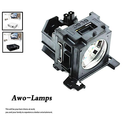 AWO DT00751/CPX260LAMP Compatible Bulb Inside Replacement Lamp with Housing for HITACHI CP-X260 CP-X265 CP-X267 CP-X268 CP-X268A PJ-658