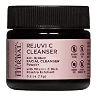 Rejuvi C, Powder Face Cleanser, Exfoliating Powder, Organic Rosehip Seed, Hibiscus and Frankincense, Ora's