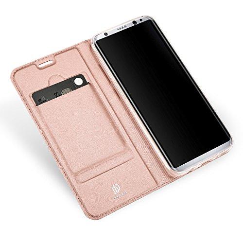 Samsung Galaxy S8 Plus Funda carcasa / caso / case, KuGi ® Samsung Galaxy S8 Plus Funda- BW estilo de alta calidad caja ultrafina de la PU del soporte para Samsung Galaxy S8 Plus teléfono inteligente. Oro rosa
