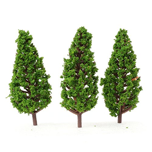 Review LYWS Model Pine Trees