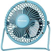 Homeleader Personal Mini Fan, 4 Inch Blades, Blue
