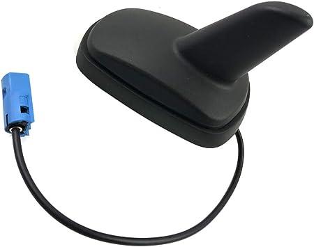 Lorjoy Compatible Antena de Techo Antena para Opel Astra GH Corsa CDAB Zafira Vectra C Shark Hai