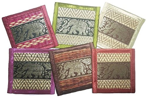 chic-nature-reed-elephant-collection-6-piece-handmade-coaster-set-assorted-color-fancy-colors-3