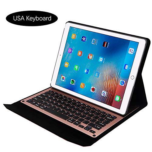 オリジナル Happon iPad Pro iPad 12.9インチ ローズゴールド 2015 2017 2017 ケースセット 取り外し可能なワイヤレスUSAキーボードタブレットプロテクターケース フリップ耐衝撃性 フルプロテクション iPad Pro 12.9インチ 2015 2017 ローズゴールド, XV70-DC-229 ローズゴールド B07KTYLXYS, sunlifestore:bf3b6834 --- a0267596.xsph.ru