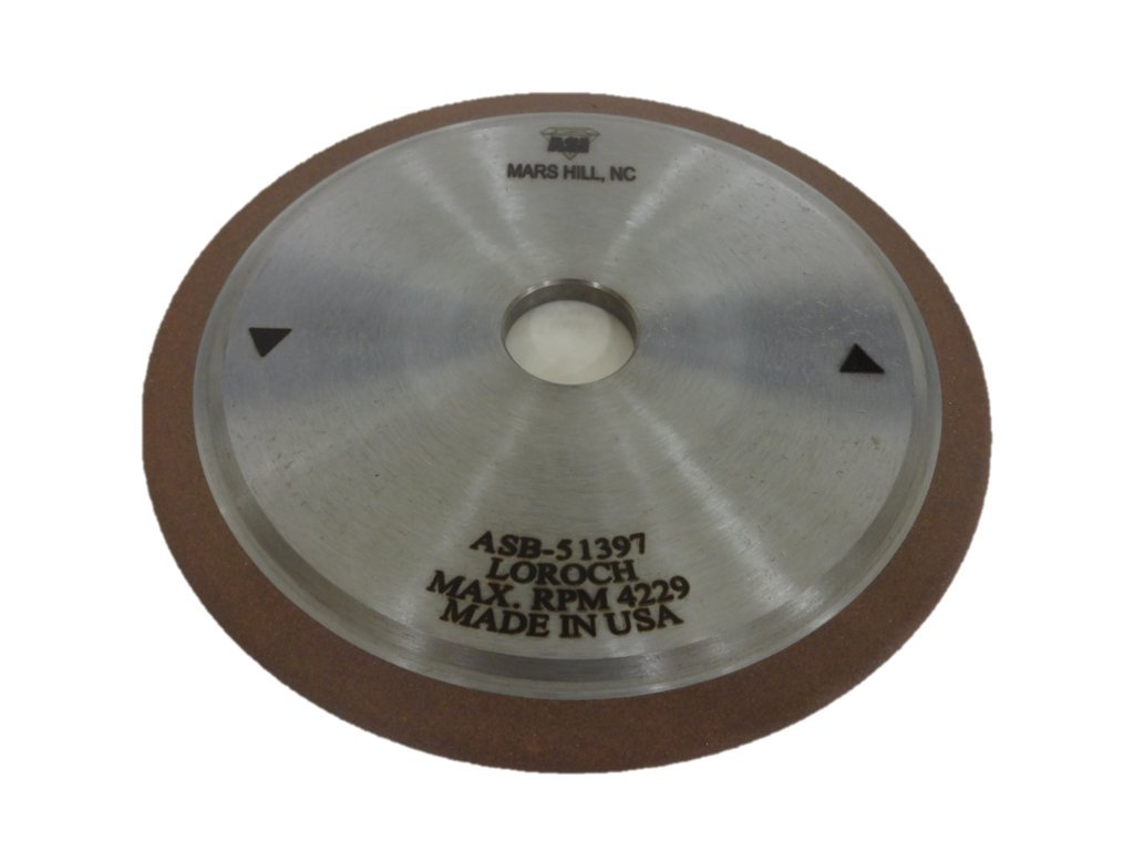 Advanced Superabrasives Inc. Resin Bonded CBN Grinding Wheel