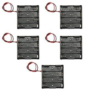 Lights & Lighting - 5pcs 3v 2a 4aa Battery Holder Box Case Storage For Diy - Plastic Battery Case Holder Storage Box For 18650 Lithium 2x18650 Series