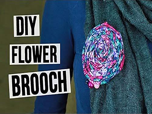 Do It Yourself Flower Brooch
