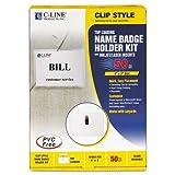 C-Line Laser/Inkjet Clip Style Badge Holder Kits