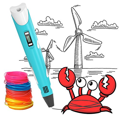 3D Printing Pen, BESTHING Low Temperature 3D Printing Pen with LED Display