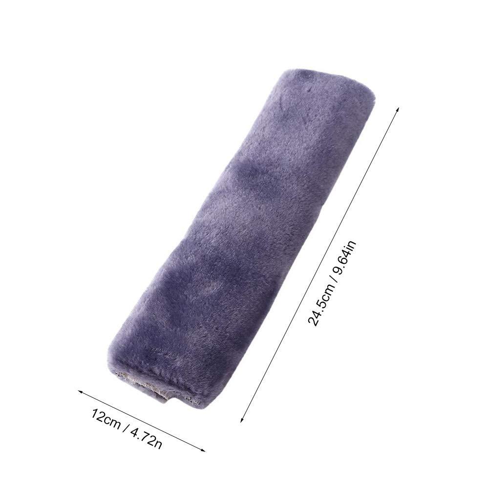 SUV Durable /& Adjustable Pads Black Comfortable Fabric Auto Truck Premiun Quality 2Pcs Car Seat Belt Cover Soft Seatbelt Shoulder Pads Purple Beige Black for Adults Women Kids