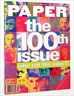 paper magazine february 1994 the 100th issue