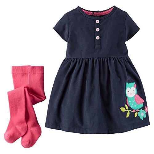 Carters Girls Piece Fairisle Dress
