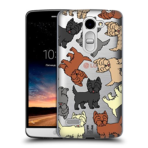 Head Case Designs Cairn Terrier Dog Breed Patterns 6 Hard Back Case for LG Ray / - Cairns Rays