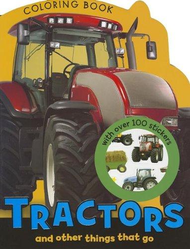 Tractors Coloring Book