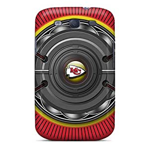 Waterdrop Snap-on Kansas City Chiefs Industrial Element Case For Galaxy S3