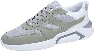 HCFKJ Scarpe Sportive Sneaker Moda Maschile con Sneakers Sneakers Traspiranti in Mesh Leggero