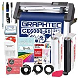 Graphtec PLUS CE6000-60 24 Inch Professional Vinyl Cutter with BONUS $700 in Software, Oracal 651, and 2 Year Warranty