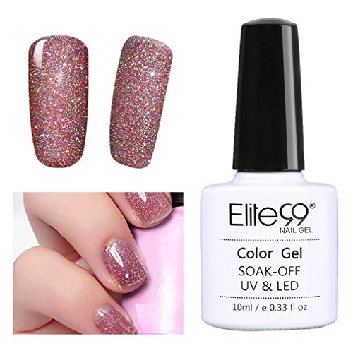 soak uv gel polish bling