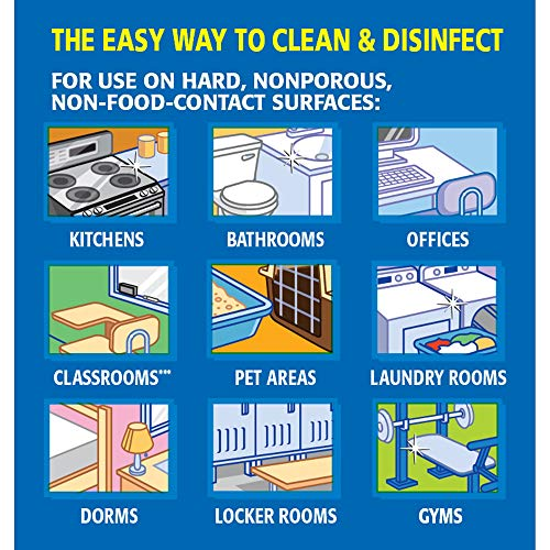 Clorox Commercial Solutions Disinfecting Wipes, Fresh Scent - 75 Wipes - 6 Canisters/Case (15949)