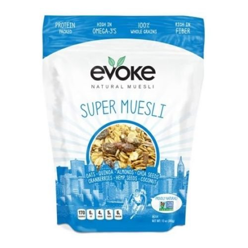 Evoke Healthy Foods Super Muesli, 12 Ounce - 6 per case. by Evoke Healthy Foods