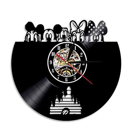 Reloj De CD, Disco De Vinilo Musical La Manecilla De Los Minutos ...