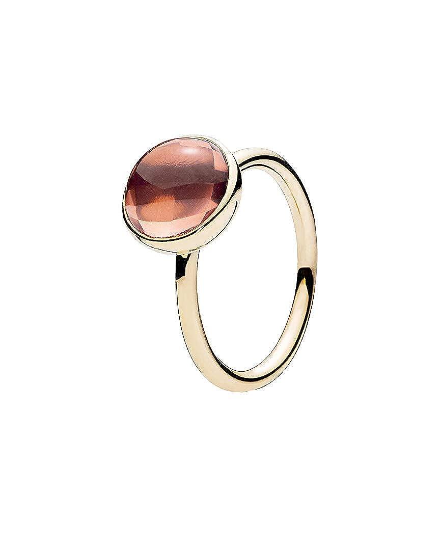 73dea6104f2d1 Amazon.com: PANDORA Poetic Droplet 14K Crystal Ring, 52: Jewelry
