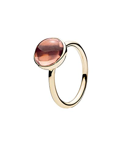 308a62608 Image Unavailable. Image not available for. Color: PANDORA Poetic Droplet  14K Crystal Ring ...