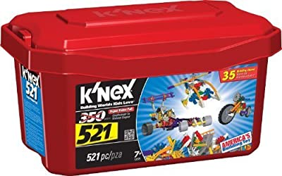 K'NEX 521 Piece Building Set | Educational Computers