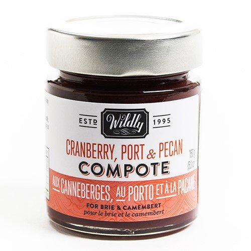 Cranberry, Port & Pecan Compote by Wildly Delicious