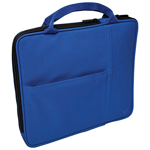 V7 All-in-one Tablet Sleeve Bag Case with Carrying Handle for iPad Air, iPad Mini 3, Amazon Kindle, Galaxy, Nexus, 7