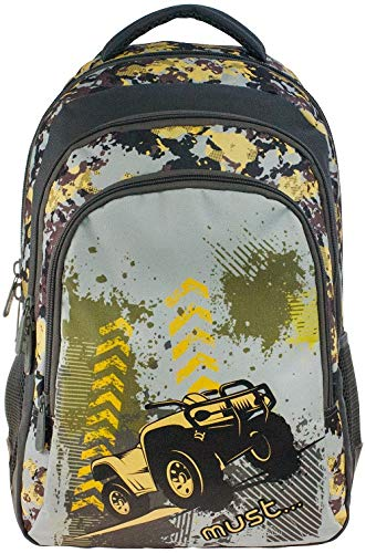Multicolored Diakakis 000579279 Backpack Must with Hook 4/Χ4 Car 30X46X20 30 x 46 x 20 cm