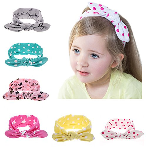 Roewell® Baby Elastic Hair Hoops Headbands and Girl's Fashion Soft Headbands