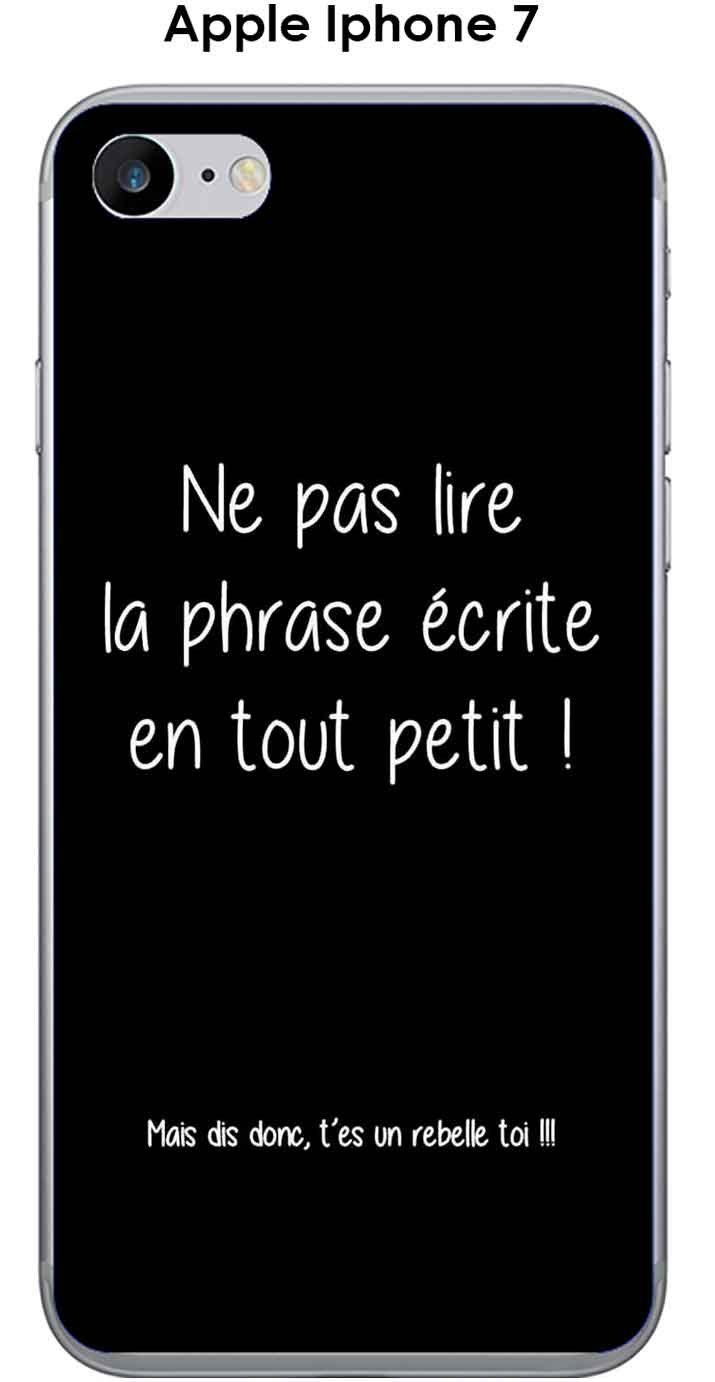 coque iphone 7 phrase drole