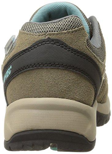 Hi-Tec Womens Florence Low Waterproof Multisport Shoe Taupe/Mint INBYN