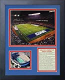 """Legends Never Die """"New York Giants Stadium The Field"""" Framed Photo Collage, 11 x 14-Inch"""