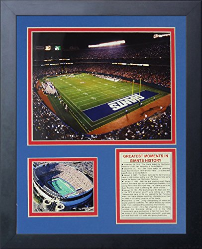 "Legends Never Die ""New York Giants Stadium The Field Framed Photo Collage, 11 x 14-Inch"