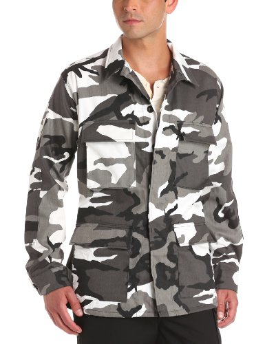 Propper Men's BDU Coat, Urban Camo, XX-Large Regular