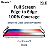 Best Case With FREE Screens - iPhone X Screen Protector, Daswise 2017 100% Coverage Review