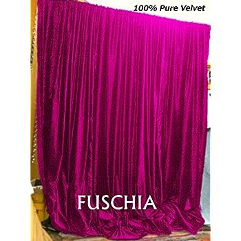 84 Inch Black Curtain Panel